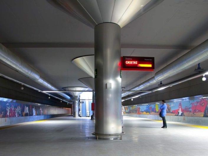 Jose Anoro fotografia arquitectura estación goya zaragoza